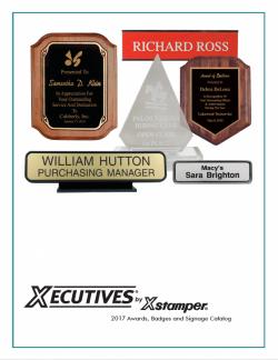 Awards, Badges, & Signage