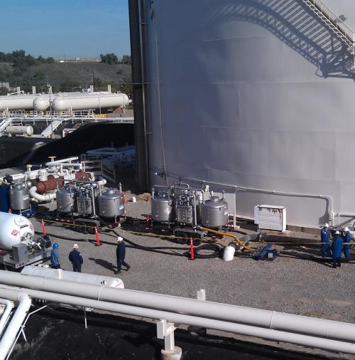 Vapor Control & Degassing   Environment & Industrial
