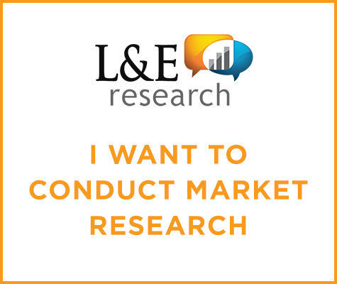 L&E Research: I want to conduct market research